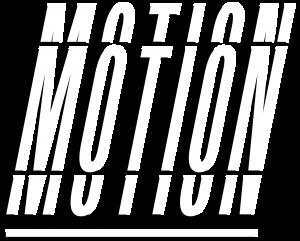 Wit logo online-motion