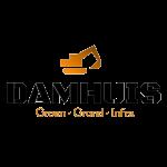 Damhuis groen grond infra logo